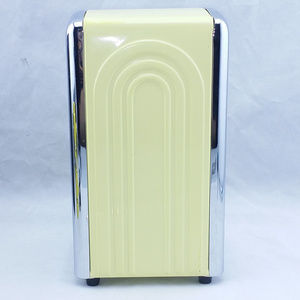 Homer Laughlin Kitchen - Retro Diner Napkin Holder Dispenser Yellow 1996